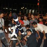 Acara pengamatan SAC bersama publik