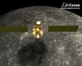 Chang'e 1 yang bertugas mengorbit Bulan. Kredit: people.com.cn