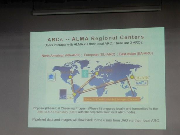ALMA, studi pada frontier dalam astronomi & astrofisika.