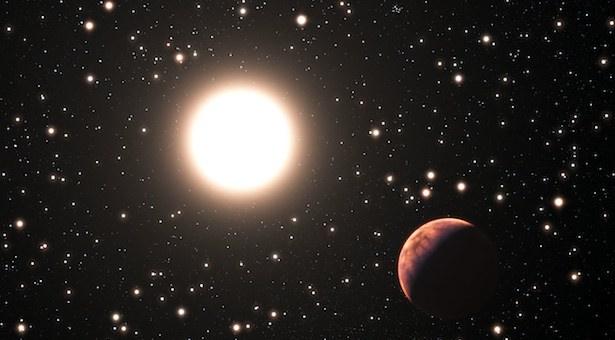 Ilustrasi 3 exoplanet di Messier 67. Kredit:ESO/L. Calçada