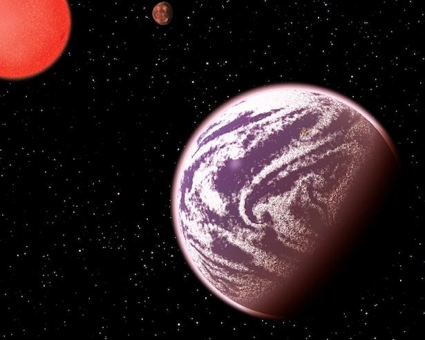 Ilustrasi planet KOI-314c. Kredit: C. Pulliam & D. Aguilar (CfA)