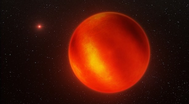 Ilustrasi rupa katai cokelat. Kredit: ESO/I. Crossfield/N. Risinger (skysurvey.org)