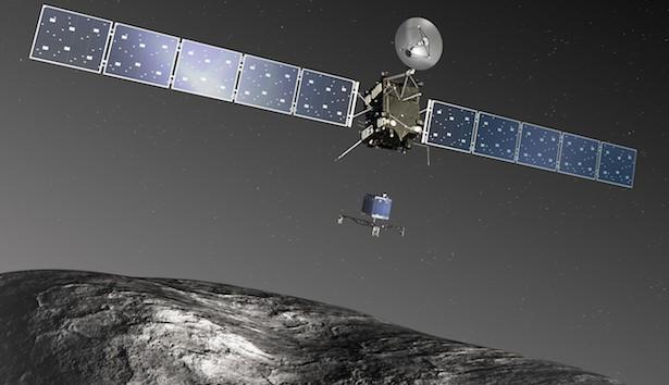 Ilustrasi saat Rosetta mendekati komet 67P/Churyumov-Gerasimenko. Kredit:  ESA–C. Carreau/ATG medialab