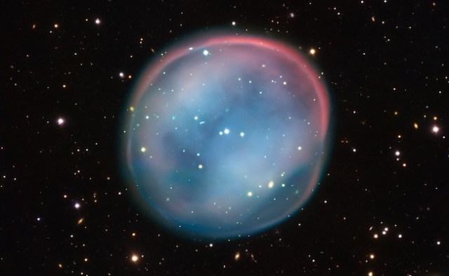Nebula Burung Hantu Selatan. Kredit: ESO