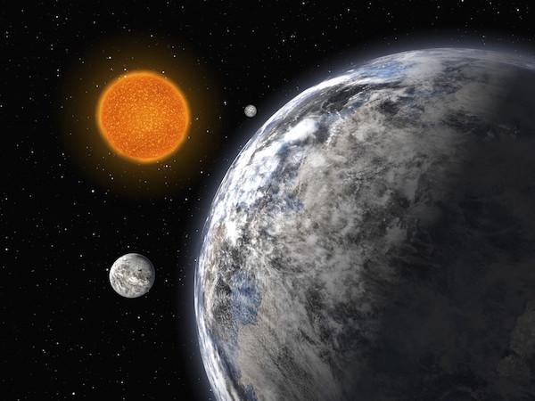 Ilustrasi dunia asing di bintang lain. Kredit: ESO