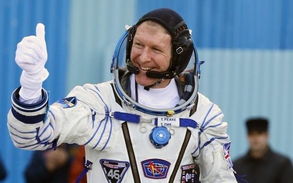 Tim Peake, astronaut Inggris yang saat ini dikirim ke ISS. Kredit: ESA