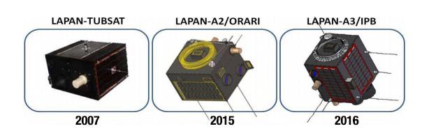Mikrosat LAPAN seri A. Kredit: LAPAN