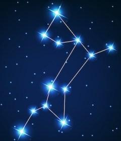 Sirius bintang terang di langit malam yang merupakan bagian dari rasi Canis Major. Kredit: Ganko