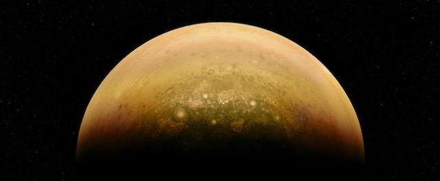 Jupiter Rise oleh Alex Mai. Kredit: NASA/JPL-Caltech/SwRI/MSSS/Alex Mai