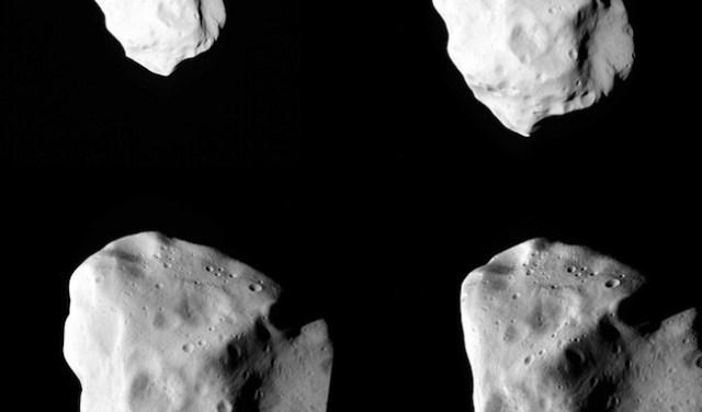 Asteroid yang dipotret Rosetta. Kredit: ESA 2010 MPS untuk Tim OSIRIS MPS/UPD/LAM/IAA/RSSD/INTA/UPM/DASP/IDA