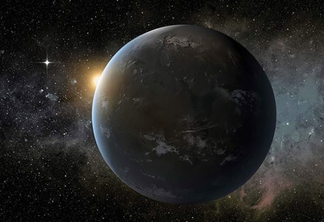 Ilustrasi exoplanet di bintang Wolf 1061. Sumber: NASA/Ames/JPL-Caltech