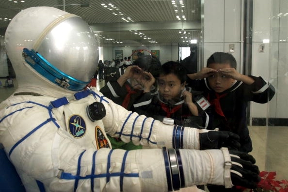 Pameran aerospace di Chengdu. Kredit: China Photos / Getty Image