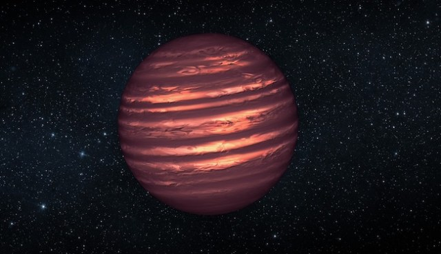 Ilustrasi bintang katai coklat. Kredit: NASA / JPL-Caltech