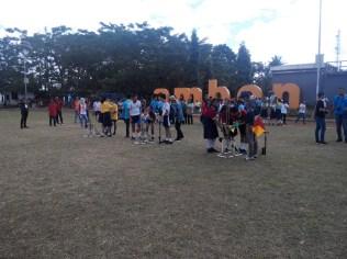 Saat kompetisi di kota Ambon. Kredit: Aldino Adry Baskoro
