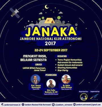 Galeri: Jambore Nasional Klub Astronomi 2017 Hari-1