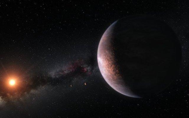 Ilustrasi Sistem keplanetan di Bintang TRAPPIST-1. Kredit: ESO/M. Kornmesser