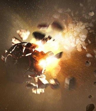 Ketika Mesin Belajar Menghindari Tabrakan Asteroid