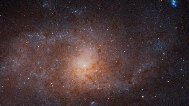 Foto resolusi tinggi Galaksi Triangulum yang dipotret Teleskop Hubble. Kredit: NASA, ESA, and M. Durbin, J. Dalcanton, dan B. F. Williams (Universitas Washington)