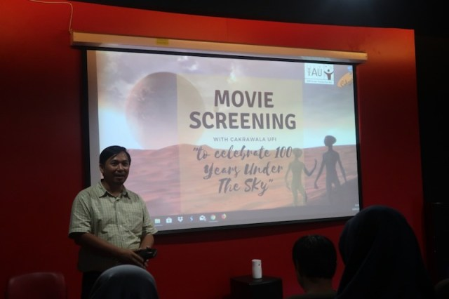 Acara Movie Screening: The Mars Generation di UPI Bandung. Kredit: Cakrawala UPI