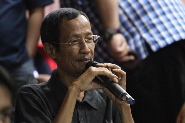 Widya Sawitar, astronom komunikator dan Mr. Indonesian Amateur Astronomer. Kredit: Rakean Wisesa