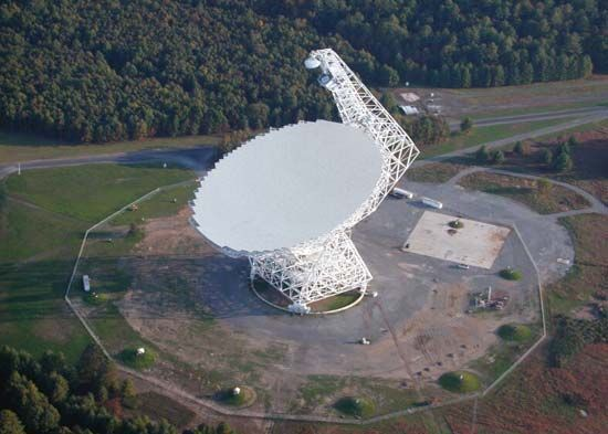 Green Bank Observatory. Sumber: wvnews.com