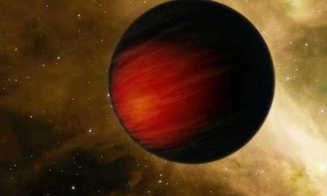 Ilustrasi Jupiter panas yang mengorbit sangat dekat dengan bintang induknya. Kredit: NASA / JPL-Caltech