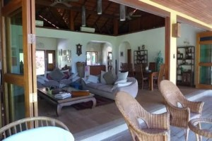 Patio and Living room View | Private Villa with Pool and Land for Sale | Ulu Melaka Langkawi