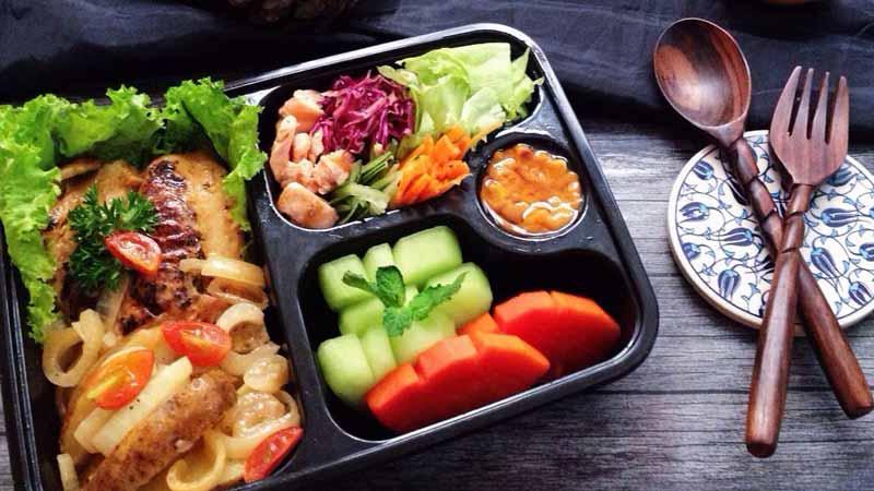 Catering makanan diet