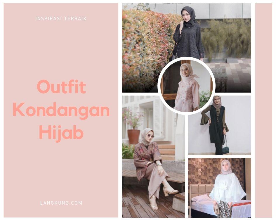 outfit kondangan hijab