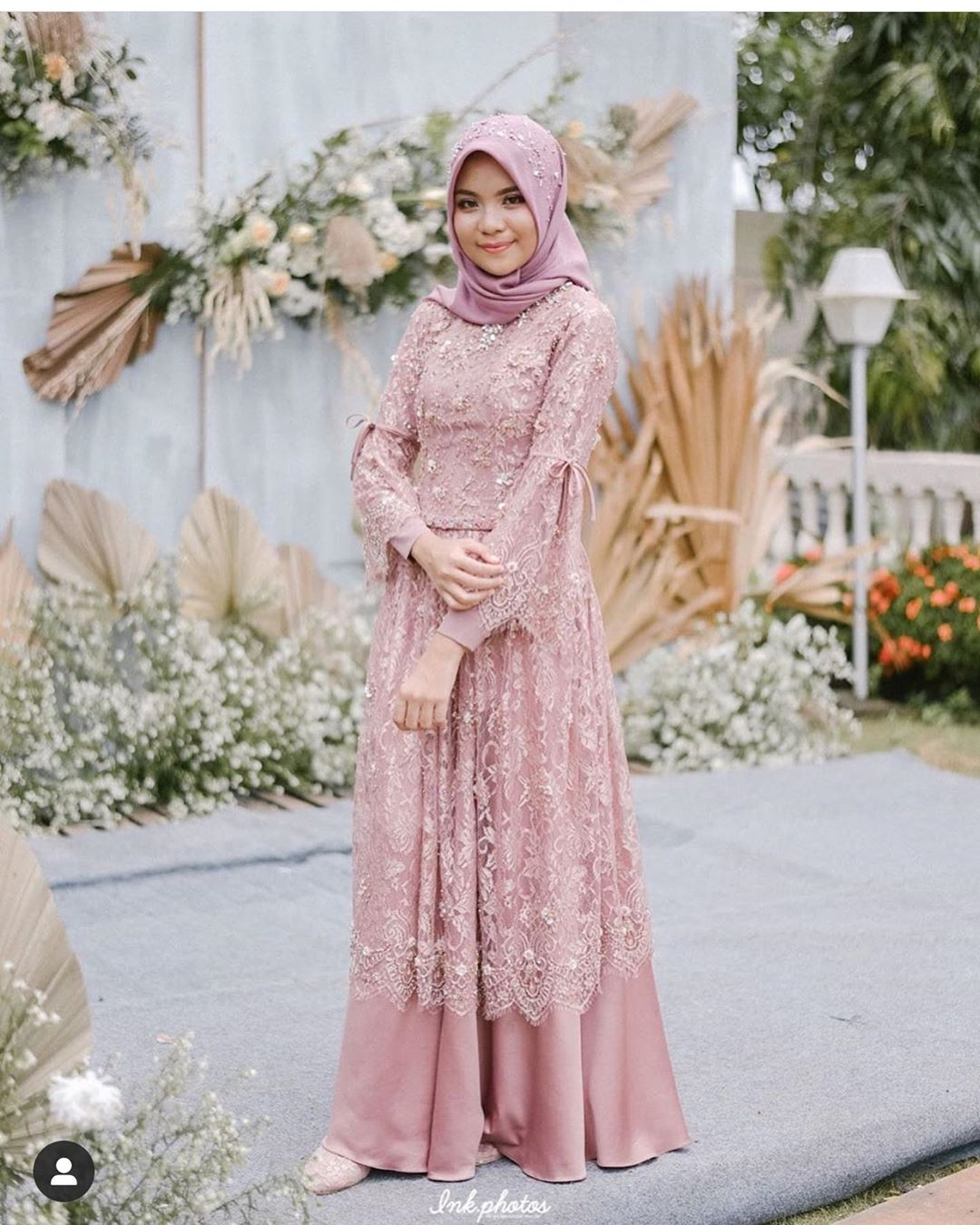 65 model kebaya muslim brokat modern hijab terbaik