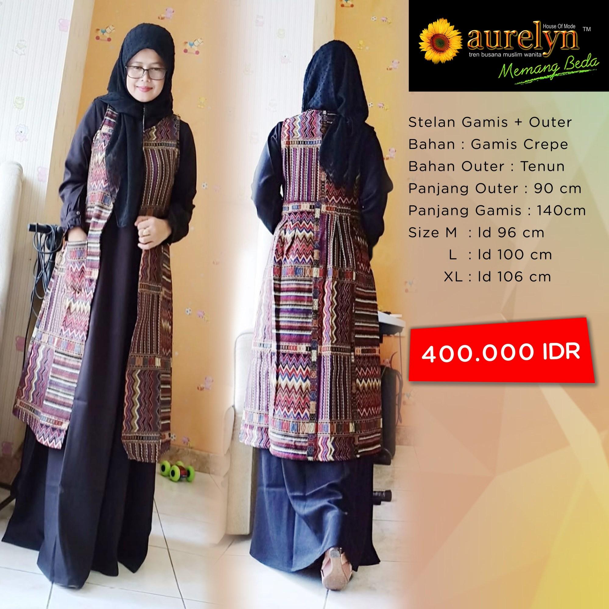 batik songket navy