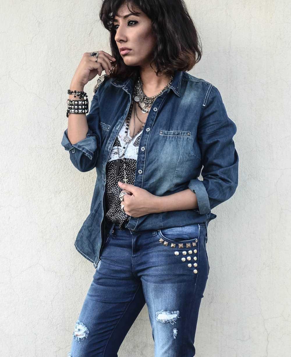 Denim Outfit - langkung.com