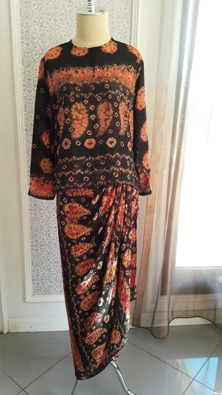 Gamis batik palembang