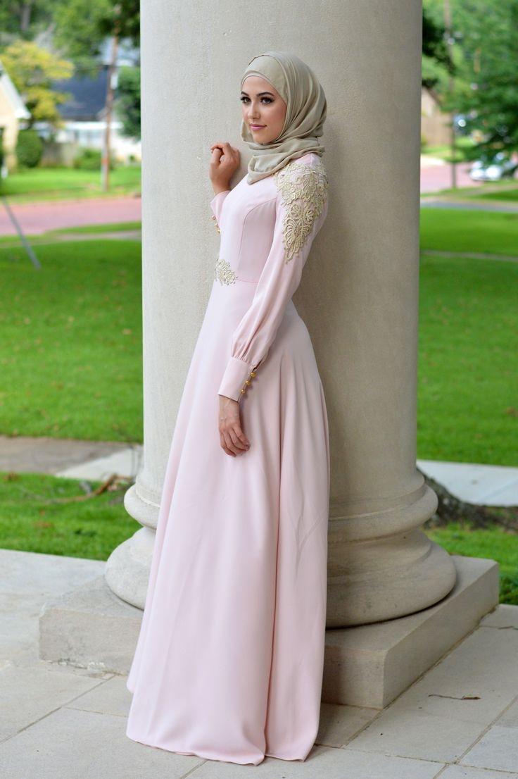 Gamis pink cantik