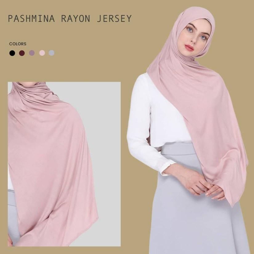 Hijab syar'i tutorial dengan pashmina yang mudah