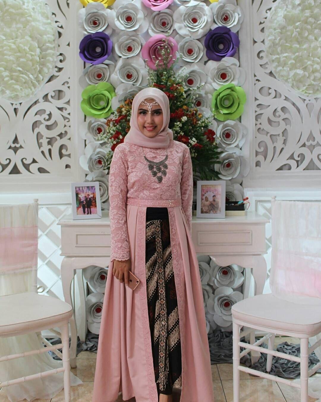 Kebaya kutu baru hijab yang menawan