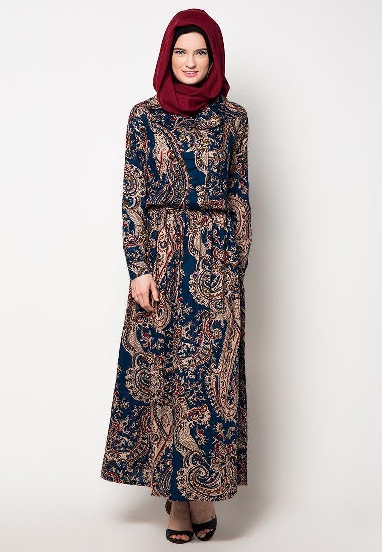 Model baru gamis batik