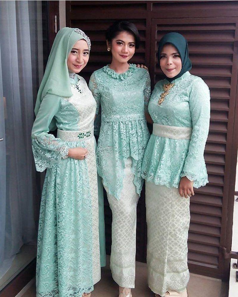 ❤️ Referensi Model Kebaya Hijab Modern - Langkung