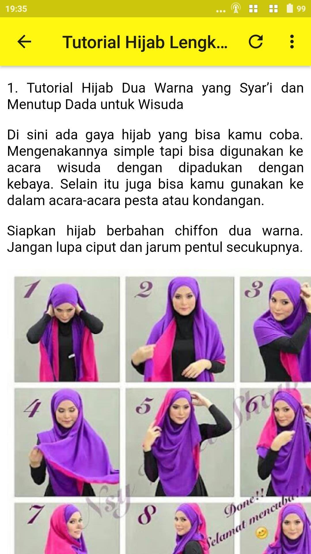 Model Hijab Syari Terbaru - langkung.com