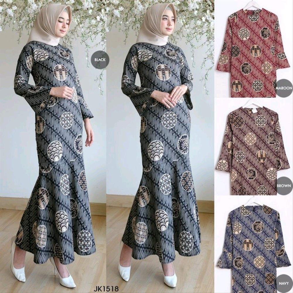 32 model baju batik wanita hijab terbaru info top