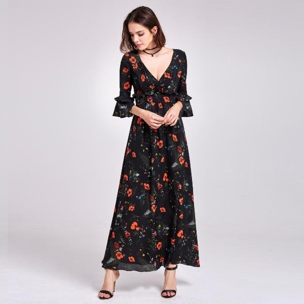 77 model baju dress panjang elegan casual terbaru 2020 1