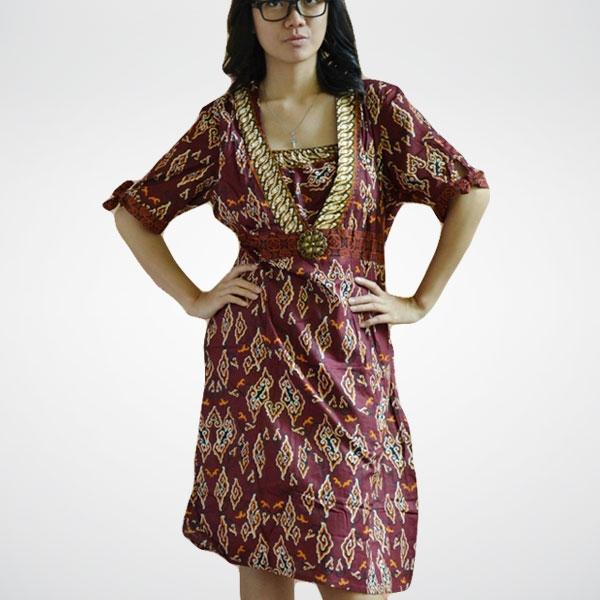 baju muslim terbaru 99 model baju batik wanita muslim terbaru