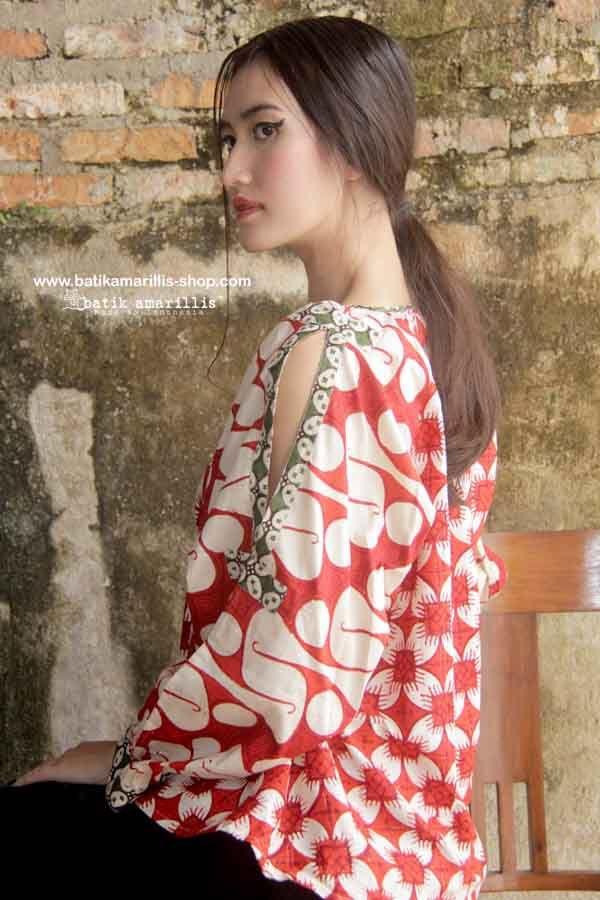 batik amarillis made in indonesia model pakaian wanita