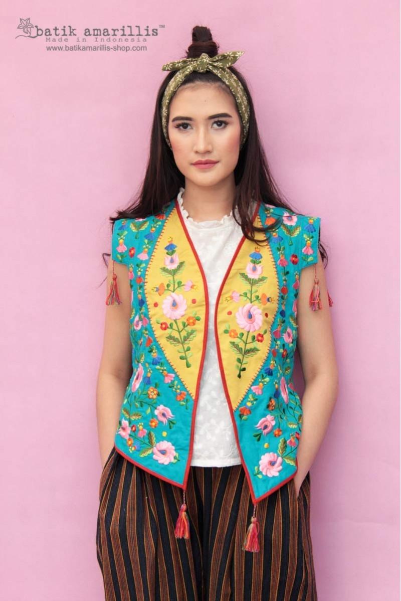 batik amarilliss birth day vest 8 po batik amarillis