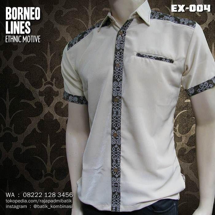 batik seragam kantor model baju pria pakaian pria dan