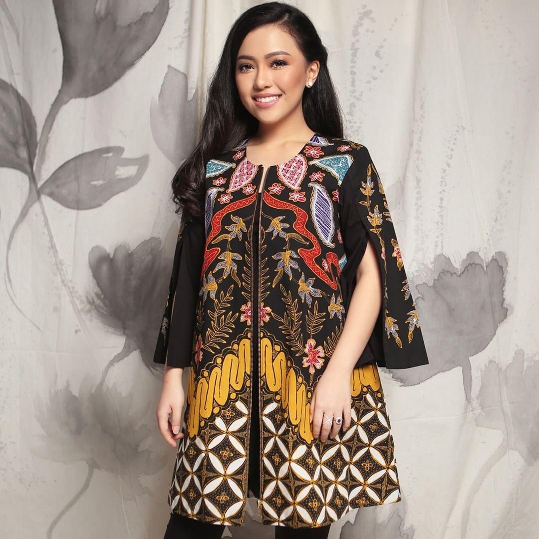 contoh model baju batik wanita orang gemuk untuk style dan