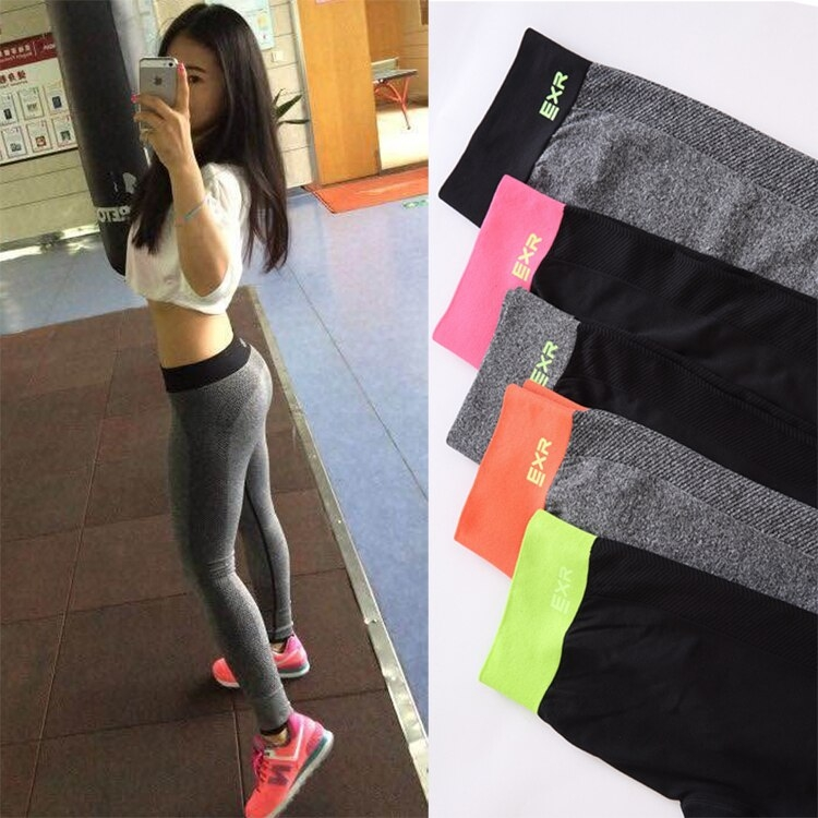 fashion celana yoga untuk wanita ketat sportwear legging