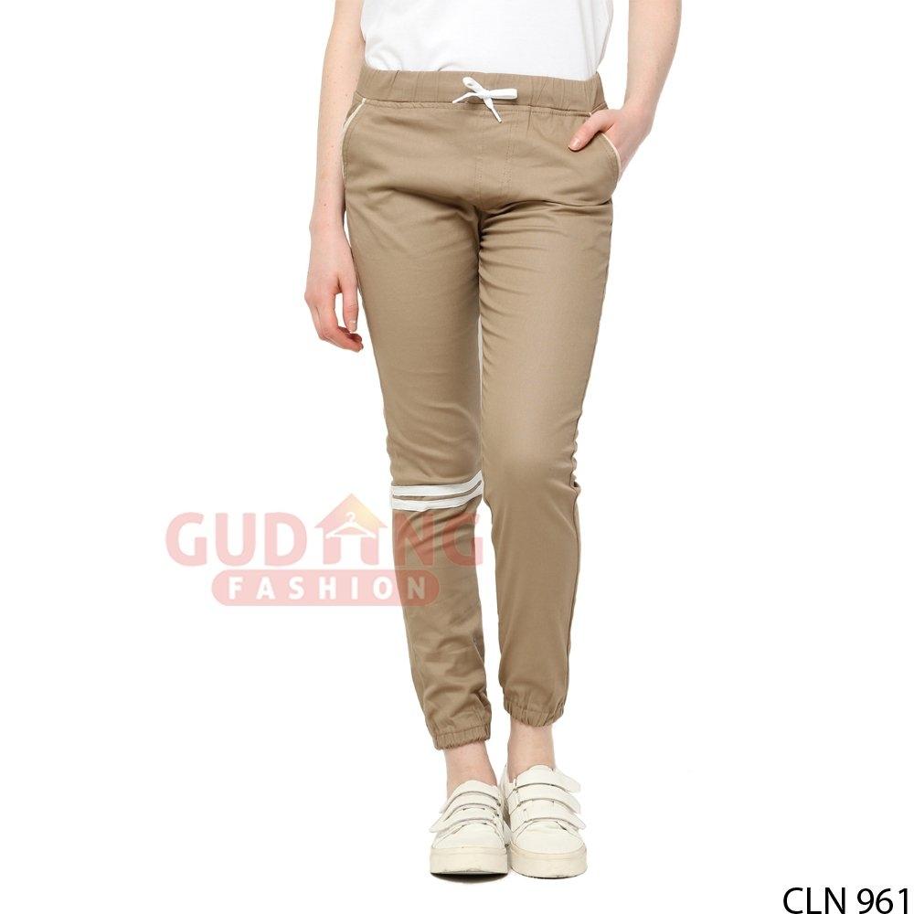 gambar celana jogger wanita terbaru trend fashion