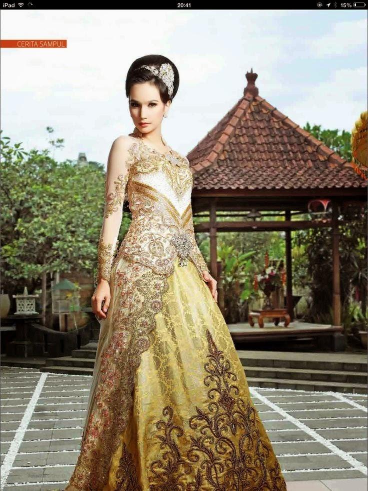 kebaya modern luxury international kebaya batik modern