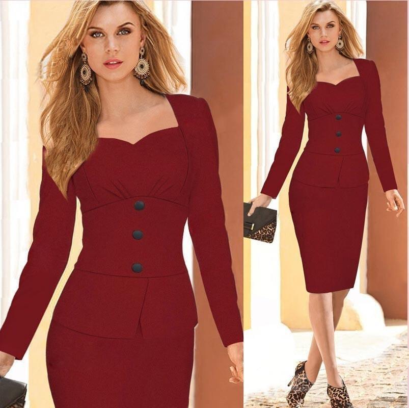 ladies elegant business womens set formal office suit